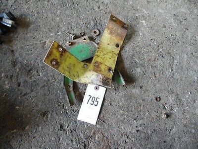 John Deere 3020 Tractor Seat Bracket Leftright Back Tag 795