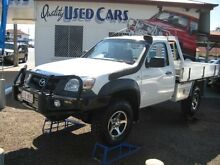 2007 Mazda BT-50 UNY0E3 DX White  Cab Chassis Woodend Ipswich City Preview