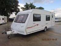 2006 COMPASS CONNISEUR 556 6 BERTH CARAVAN WITH AWNING AND MOTOR MOVER ANDERSON CARAVAN SALES