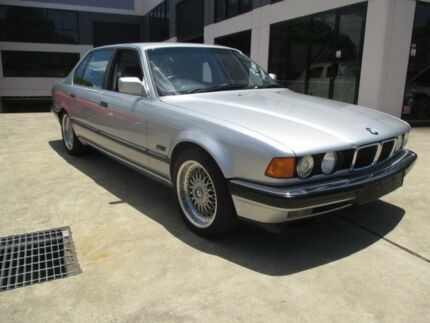 1993 BMW 740il Silver 4 Speed Automatic Sedan