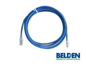 LOT of Belden Network Cable - CAT 6+ Blue, 4 Ft. C601106004