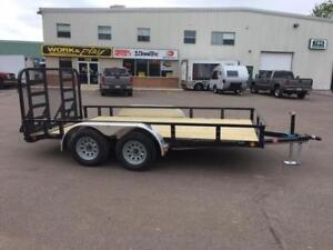 "NEW 2018 PJ 83"" x 14' READY-RAIL LANDSCAPE TRAILER"