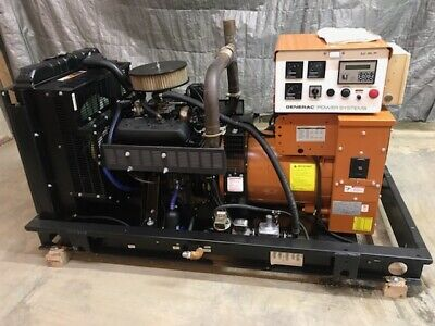 30 Kw Generator Natural Gas Propane 120240 Volt Single Phase Generac Gm 4.3 V6