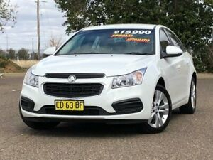 2015 Holden Cruze JH Series II MY15 Equipe White 6 Speed Sports Automatic Sedan Hillvue Tamworth City Preview