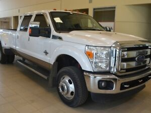 2014 Ford F-350 Lariat 4x4 SD Crew Cab 8 ft. box 172 in. WB DRW