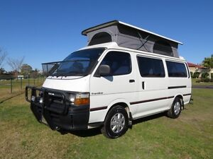 Toyota Hiace Frontline Camper – AUTO – LOW KMS Glendenning Blacktown Area Preview