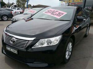 2012 Toyota Aurion GSV50R AT-X Black 6 Speed Sports Automatic Sedan