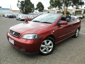 2003 Holden Astra TS Convertible Burgundy 5 Speed Manual Convertible Maidstone Maribyrnong Area Preview