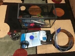10 gallon Fish tank and accesssories