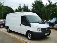 2012 FORD TRANSIT 2.2 TDCi 300 MWB Medium Roof 6 SPEED + AIR CON NO VAT