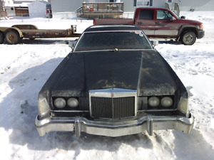 1976 Lincoln Mark IV (price reduced)