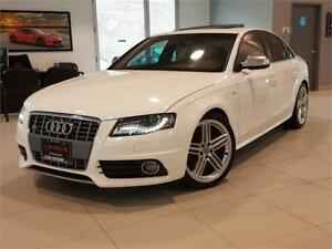 2011 Audi S4 Premium S tronic Premium Red Leather