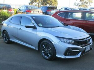 2020 Honda Civic 10th Gen MY20 VTi-S Silver 1 Speed Constant Variable Hatchback Narre Warren Casey Area Preview