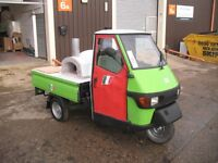 Mobile Pizza Oven Van Piaggio Ape Ready Made Business