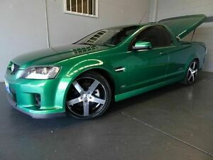 2010 Holden Commodore VE MY10 SS-V Green 6 Speed Manual Utility Woodridge Logan Area Preview