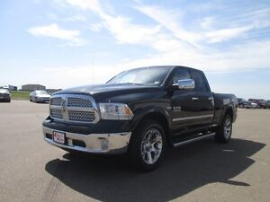 2013 RAM 1500 LARAMIE features; 5.7L V8 HEMI Engine, Leather Tr