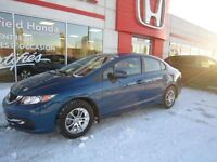 2014 Honda Civic LX Under warranty and certified!