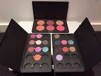 MAC Eyeshadow Palette x2 and Blusher Palette x1 with contents for Sale. Genuine Immaculate condition