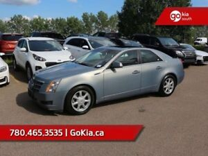 2008 Cadillac CTS 1SB; LEATHER, HEATED/VENTILATED SEATS, PANO RO
