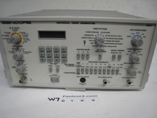 Sencore VG91 Universal Video Generator