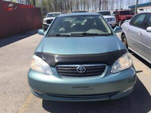 2005 TOYOTA COROLLA  LE AUTOM CLIMATISEE CUIR TOIT OUVRANT