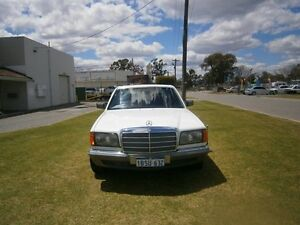1985 Mercedes-Benz 280 EX MALAYSIAN EMBASSY CAR White Automatic Sedan Maddington Gosnells Area Preview
