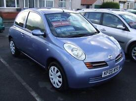2005 NISSAN MICRA 1.2 SE 3 Door From GBP2,495 + Retail Package