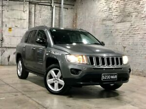 2012 Jeep Compass MK MY12 Limited CVT Auto Stick Grey 6 Speed Constant Variable Wagon Mile End South West Torrens Area Preview