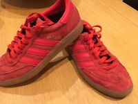 ADIDAS SPEZIAL TRAINERS, SIZE UK 4, GOOD CONDITION