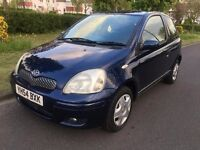Toyota Yaris 1.0 VVT-i Blue 3dr ***LOW INSURANCE GROUP*** 2004 (54 reg), Hatchback