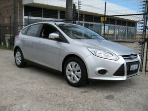 2013 Ford Focus LW MK2 Upgrade Ambiente Silver 6 Speed Automatic Hatchback Wangara Wanneroo Area Preview