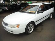 2003 Holden Commodore VY II Executive White 4 Speed Automatic Wagon Girards Hill Lismore Area Preview