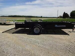 2017 Load Trail Single Axle Solid Side Utility SS Model!! London Ontario image 7