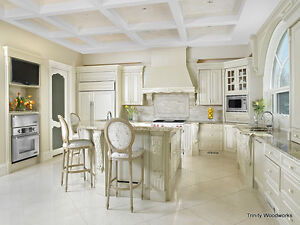 KITCHEN CABINETS!  MADE RIGHT HERE.