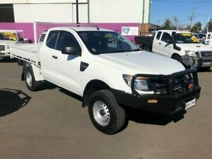 2012 Ford Ranger PX XL 3.2 (4x4) White 6 Speed Manual Super Cab Chassis Dubbo Dubbo Area Preview