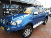 2009 Toyota Hilux KUN26R 08 Upgrade SR5 (4x4) Blue 5 Speed Manual Dual Cab Pickup Croydon Burwood Area Preview