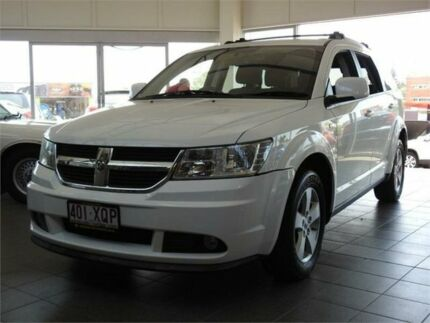 2011 Dodge Journey JC MY10 SXT White 6 Speed Automatic Wagon Moorooka Brisbane South West Preview