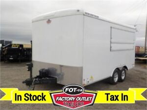 BLOWOUT ---> 8.5 X 16 CONCESSION TRAILER BY FOREST RIVER INC