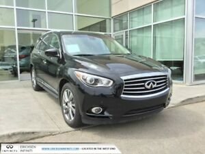2015 Infiniti QX60 DELUXE TOURING/HEATED AND COOLED SEATS/DVD/NA