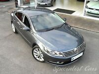 VOLKSWAGEN CC 2.0 GT TDI BLUEMOTION TECHNOLOGY DSG 4d AUTO 138 B (grey) 2013