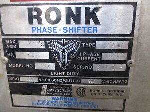 Ronk Phase Shifter