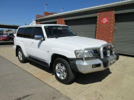 2006 Nissan Patrol GU IV ST-S (4x4) White 5 Speed Auto Sports Shift Wagon Gilles Plains Port Adelaide Area Preview