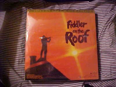 Laserdisc BRAND NEW Sealed FIDDLER ON THE ROOF Letterbox Edition 2 Disc Set G