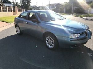 2000 Alfa Romeo 156 Twin Spark 5 Speed Manual Sedan Southport Gold Coast City Preview