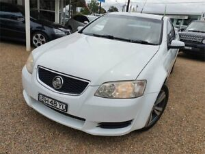 2010 Holden Ute VE II Omega White 4 Speed Sports Automatic Utility Sylvania Sutherland Area Preview