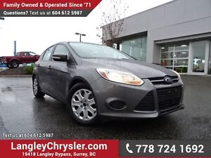 2014 Ford Focus SE LOCALLY DRIVEN & ACCIDENT FREE