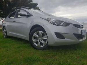 2013 Hyundai Elantra MD2 Active Silver 6 Speed Sports Automatic Sedan South Burnie Burnie Area Preview