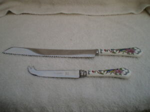 Aynsley China PEMBROKE Serving Knives