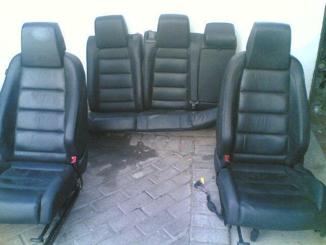 vw golf6 gti seats
