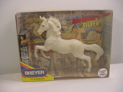 Breyer Lone Ranger's Silver In Original Box With Video